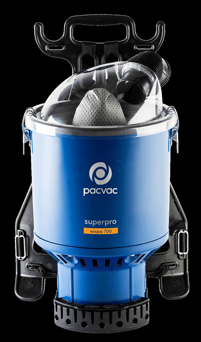 Superpro wispa 700 quiet backpack vacuum