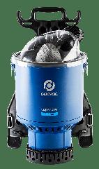 Superpro duo 700 corded backpack vacuum