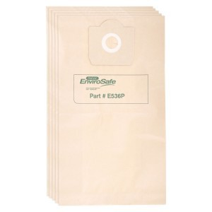 Image of Disposable paper sealed dust bag 36L (5pk)