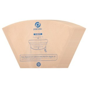 Image of Disposable paper cone dust bag 10pk
